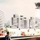 Complejo residencial y centro comercial