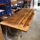 Restauración de mesa de pino