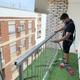 Sustitución de barandilla de balcón