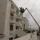 Decapando la fachada con la karcher