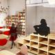 Diseño interior de biblioteca