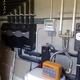 Distribución calefacción y tratamiento descalcificador agua vivienda