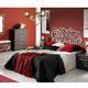 Dormitorio ALGARABIA con cabecero de cama en forja