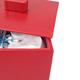 Detalle de caja con tapa para algodones