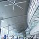Ventiladores gigantes en el Aeropuerto de Valencia