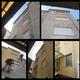 restauración de una fachada trasera mediante trabajos verticales