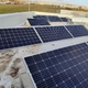 cubierta con paneles fotovoltaicos