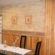 interiores con madera y pintura