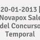 Logo 20-01-2013 | Novapox Sale del Concurso Temporal_312882