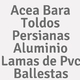 Logo Acea Bara Toldos Persianas Aluminio Lamas de Pvc Ballestas_190942