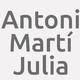 Logo Antoni Martí Julia_379432