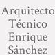 Logo Arquitecto Técnico Enrique Sánchez_413664