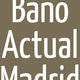 Logo Baño Actual Madrid