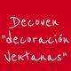 """Logo Decoven """"decoración Ventanas"""""""