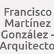 Logo Francisco Martínez González - Arquitecto_164898