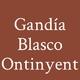 Logo Gandía Blasco Ontinyent