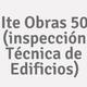 Logo Ite Obras 50 (inspección Técnica de Edificios)_253962