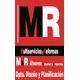 LOGO M&R PLANOS NEGRO estudios y proyectos_554839