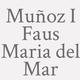 Logo Muñoz I Faus  Maria del Mar_162210
