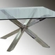 mesa comedor en acero inox