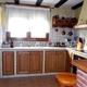 mobiliario y techo de cocina