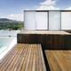 Terraza solarium en vivienda unifamiliar