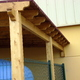Pérgola de madera