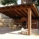Porches de madera estructural y laminada