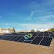 Instalación de placas solares en piscina municipal