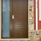 Puerta entrada, con plafón horizontal.