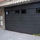 Puerta seccional automática de garaje