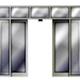 Puertas automáticas de vidrio