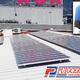 Autoconsumo solar fotovoltaico para empresa en tejado de nave industrial.