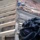 retirada de tejado viejo y colocacion de pontones nuevos