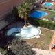 revestimiento de piscina de fibra con gresite