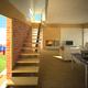 Salon y escalera, Proyecto de vivienda Monegrillo