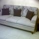 Sofá cama de matrimonio retapizado
