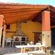 tejado,patio exterior, horno pereruela mas parrilla, cloumnas,