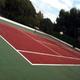 decorado de`pistas de tennis