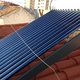 Instalación termosifón con tubos de vacío para ACS vivienda
