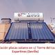 Instalación paneles solare para producción de agua caliente sanitaria
