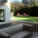 vista exterior y jardin