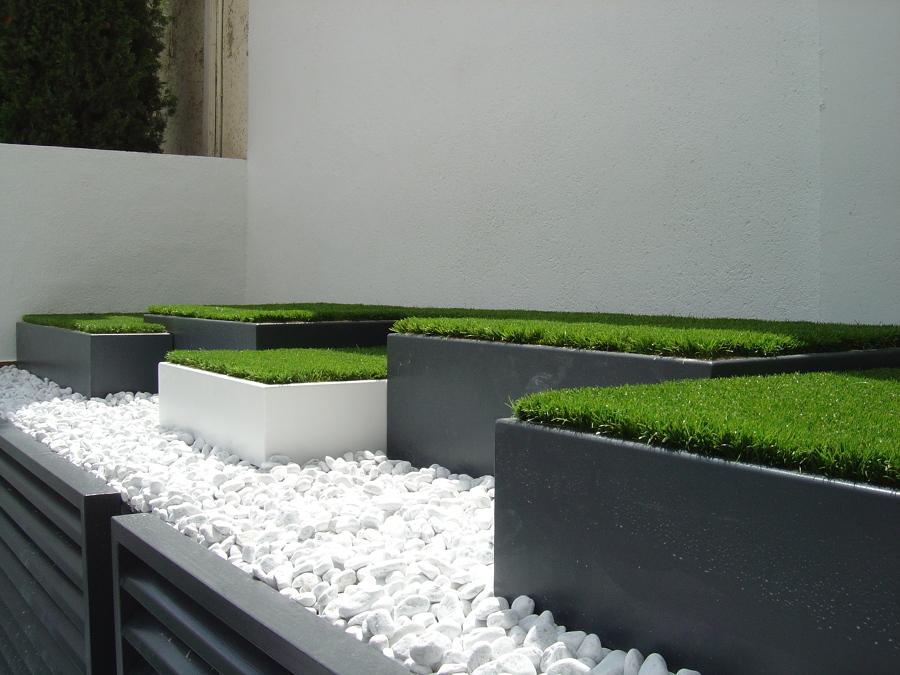 Foto jardineras metalicas de jardineria la font 1100801 - Jardineria la font ...