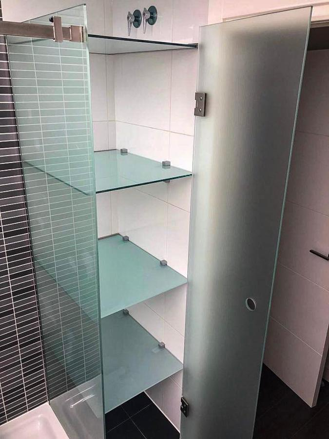 Armario baño cristal