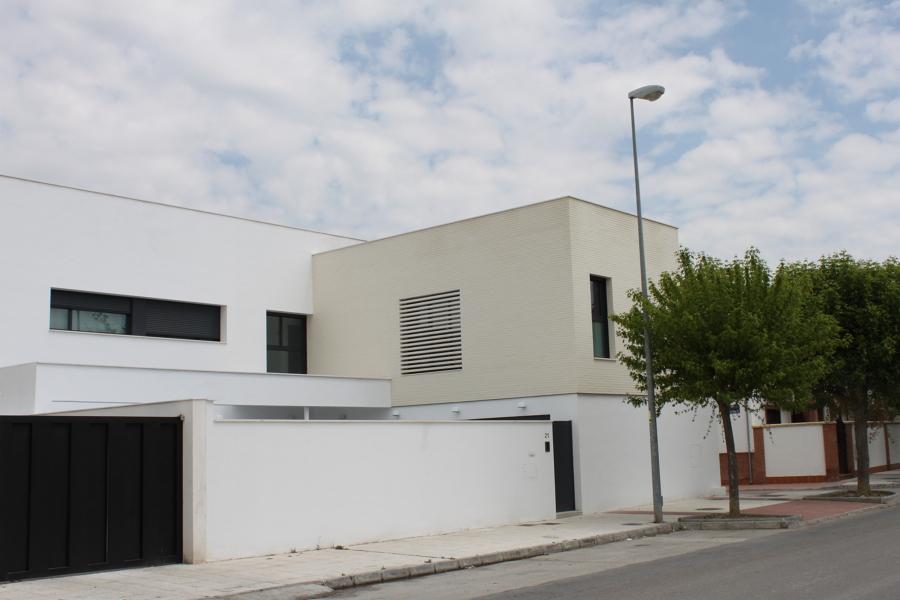 Foto vivienda unifamiliar en santa fe granada de estudio - Estudio arquitectura granada ...