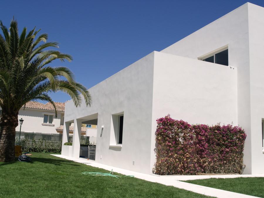 Foto jardín vivienda Marbella