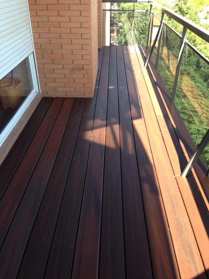 terraza con fiberon