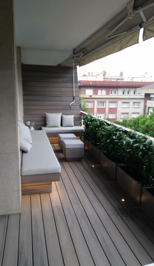 Reforma de terraza en Barcelona