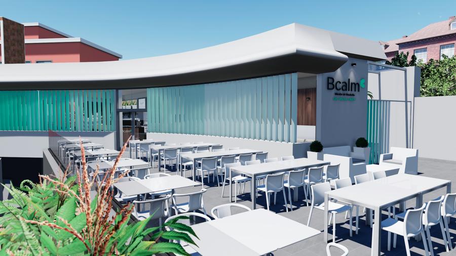 """Reforma integral de la Cafetería """"Bcalm Café - Mirador de Vistabella"""""""