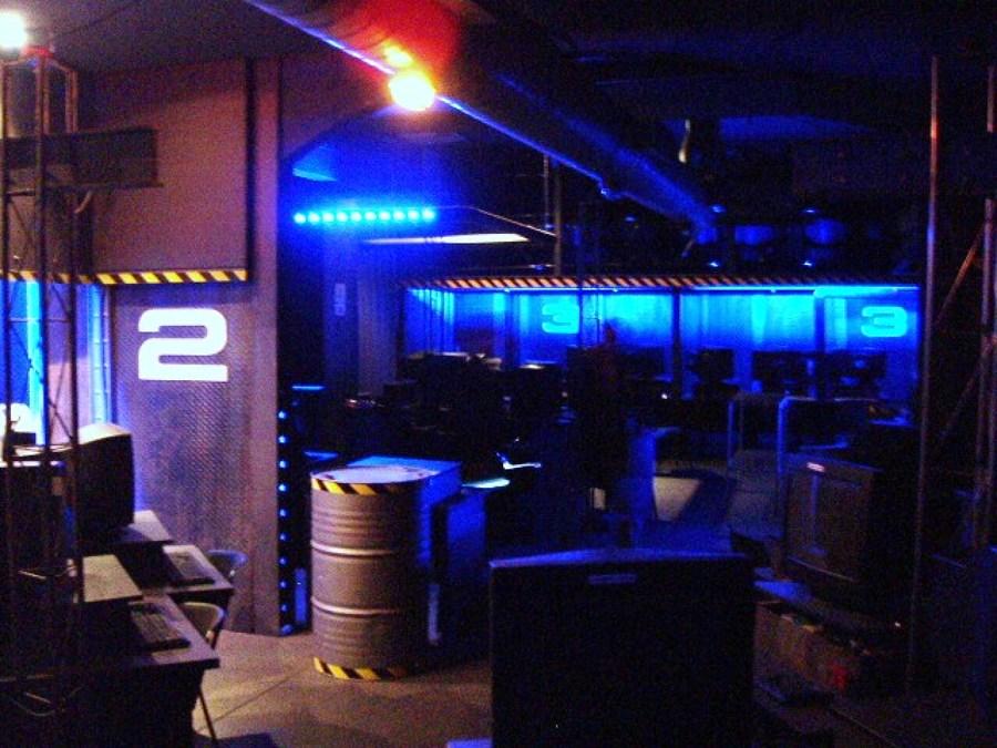 Local Cybersala. Madrid. Proyecto Decoración/Reformal (2001)